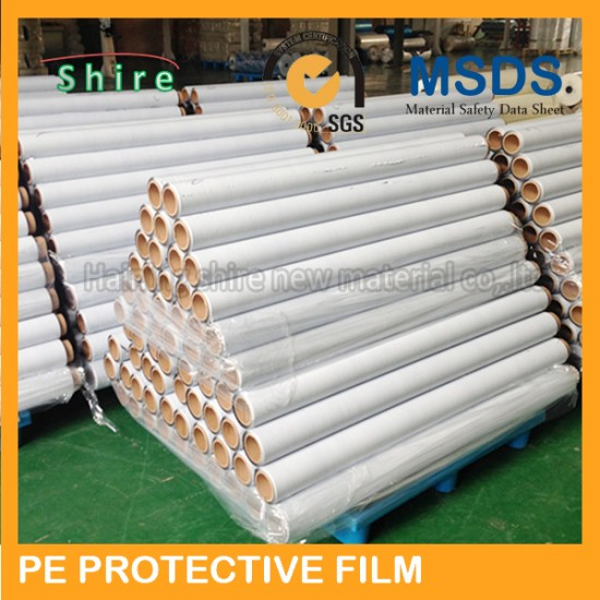 Scratch resistent stainless steel protective film