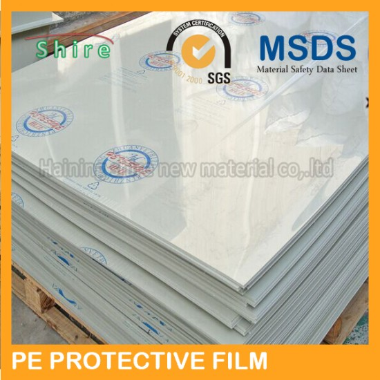 Protective film for wood surface