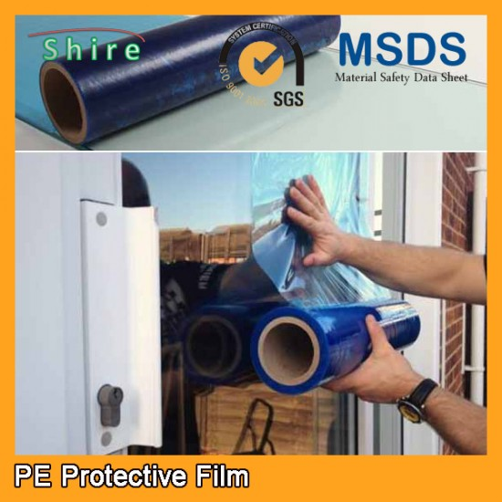 Protective film for plastic surface