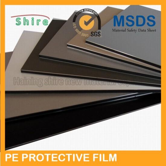 Plastic glue protective film for ACP