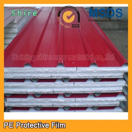 PE Protective film for aluminum sandwich panel
