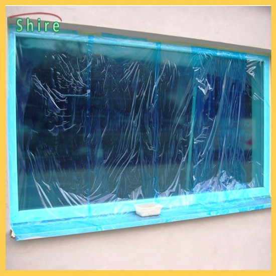 Transparent Temporary Glass Protection Film