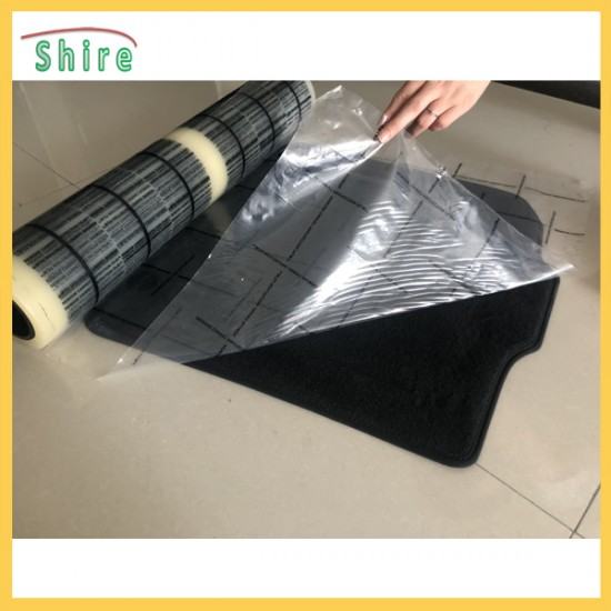 Anti dust temporary transparent carpet protective film