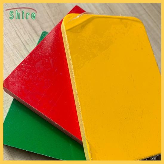 Self - Adhesive temporary  PE Protection Film Colored PVC Foam Board Protective Film