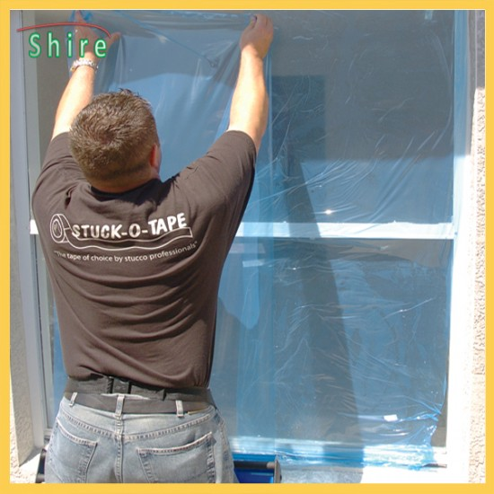 Home Decoration Use Anti-dust Glass Door and Window Protective Cover Film
