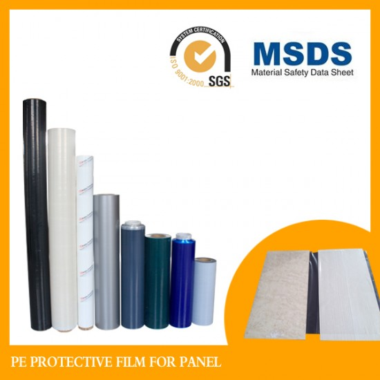Building materials protective film