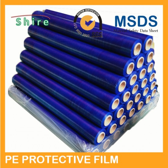 High quality protective film for aluminum panel