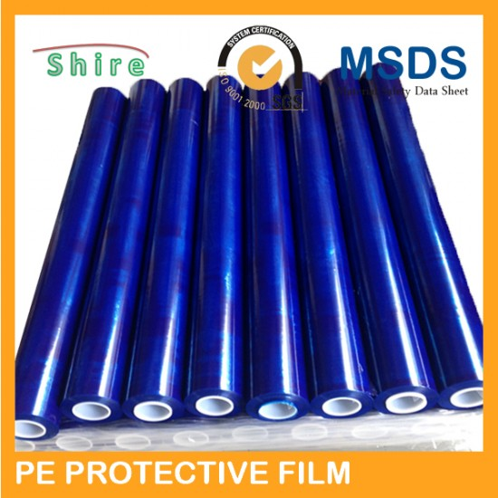 PE blue protective film China manufactory