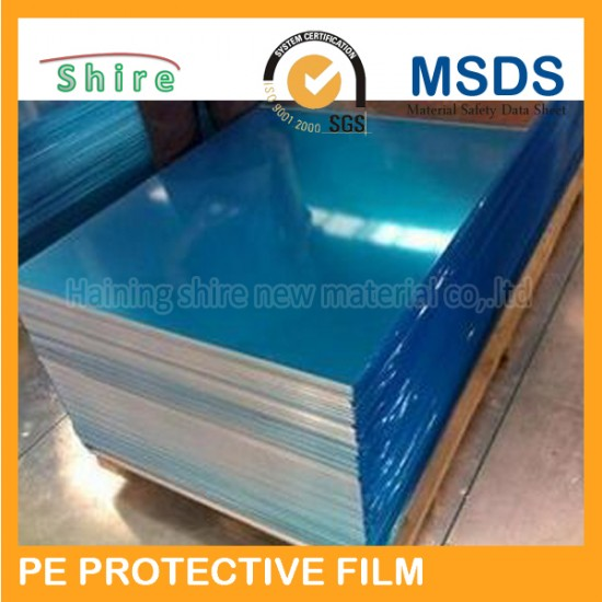 Blue pe protective film for stainless steel sheel surface blue film