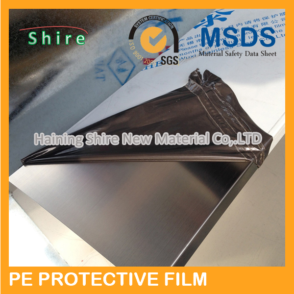stainless steel surface plastic film