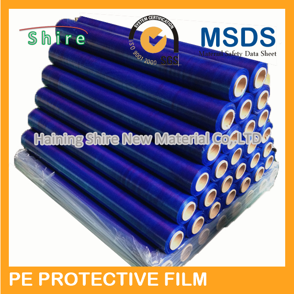 blue film/blue transparent glass film