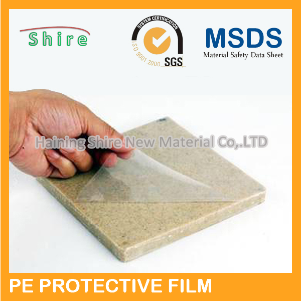 adhesive protective film for marble surface