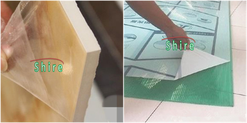 Plastic board protection tape